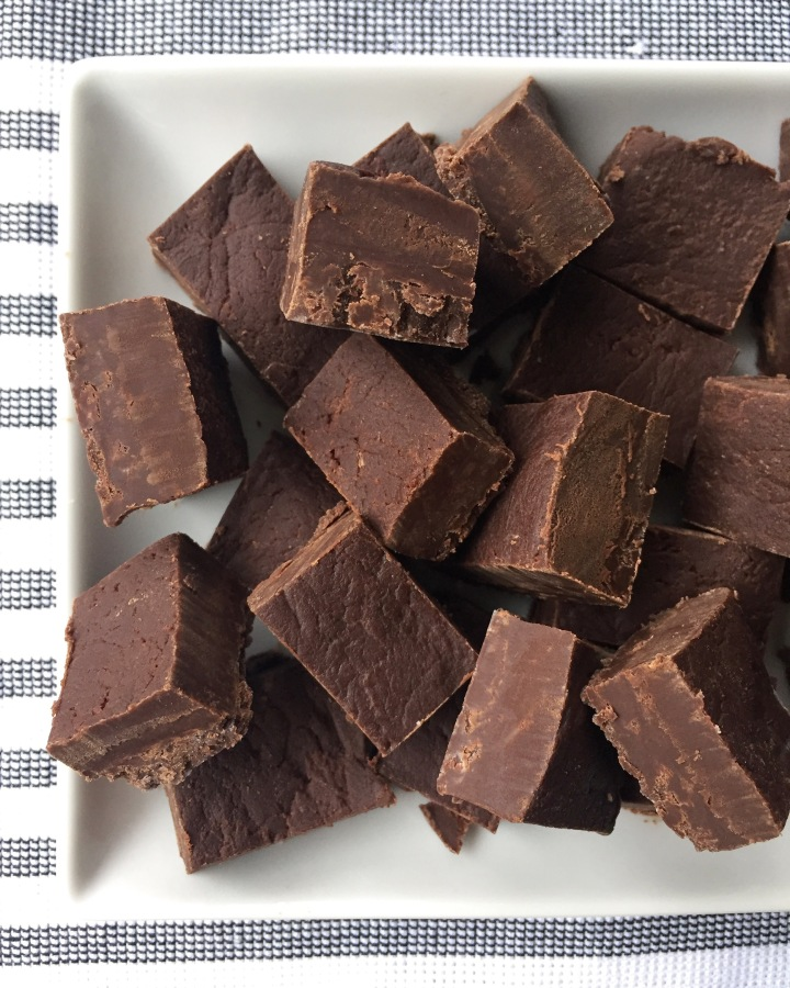 Spicy Dark Chocolate Fudge
