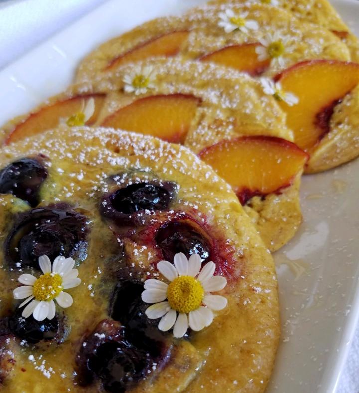 Turmeric+Ginger Pancakes
